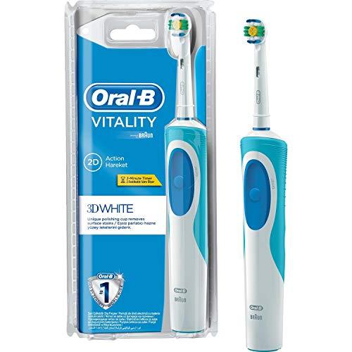 Braun Oral-B Vitality 3D White Oplaadbare elektrische tandenborstel met timer