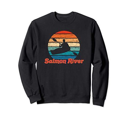 Salmon River Canoeing Idaho Kayaking Kayaker Paddling Gift Felpa