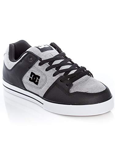 DC Shoes Pure SE - Leather Shoes for Men - Schuhe - Männer - EU 42 - Grau