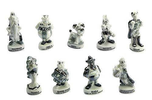 FABOLAND - Fèves Astérix Vintage -BD1158-9 Sujets Porcelaine pour Épiphanie - Galette des Rois