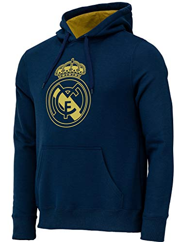 Real Madrid - Sudadera con capucha oficial para hombre, talla XL