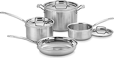 Amazon Com All Clad Bd005714 D5 Brushed 18 10 Stainless