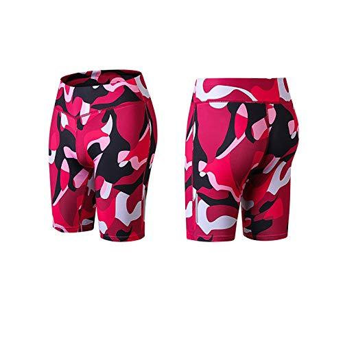 Pudyor Pantalones Cortos Deportivos Camuflaje Pantalón Fitness Elásticos Leggings Transpirables Shorts Casual Leggins de Yoga Mallas de Deporte Ideal para Correr Gimnasio Estiramiento