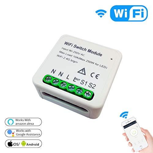 conmutador inteligente wifi de la marca Huaze