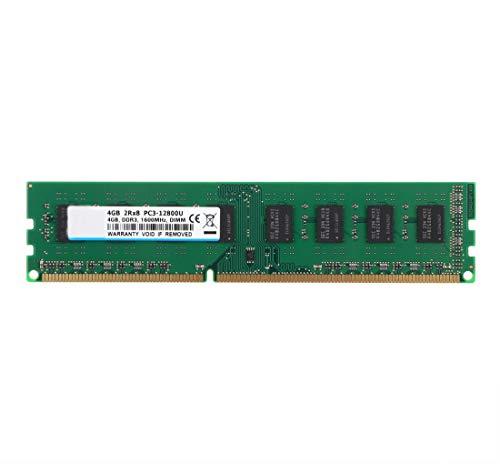 BPX DDR3 1600 MHz 4GB RAM Memoria de Escritorio, DDR3 PC3-12800 DDR3 UDIMM CL11 1.5V 2RX8 PC3 Memoria RAM Chips de módulo