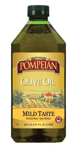 Pompeian Classic Olive Oil, Mild Flavor, Perfect...