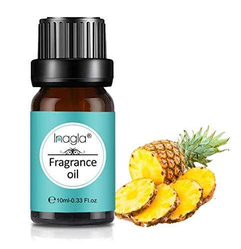 Inagla Aceites de Fragancia, Aceites de Aromaterapia, Aceites Esenciales para Humidificadores de Piña 10ML