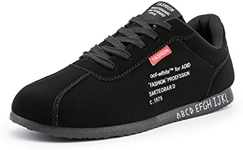 LOVDRAM Chaussures Hommes New Spring Men's chaussures Fashion Wild Student Personality Men's Sports chaussures Youth