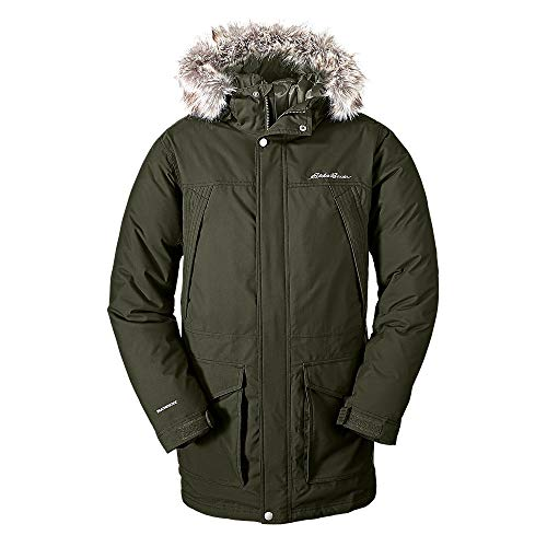 Eddie Bauer Men's Superior Down Parka, Dk Loden Regular M