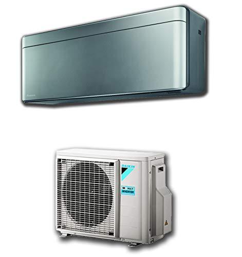 Daikin - CLIMATIZZATORE CONDIZIONATORE Bluevolution Inverter Stylish Silver 12000 btu Wi-Fi A+++ R-32 FTXA35AS - FTXA35AS/RXAA