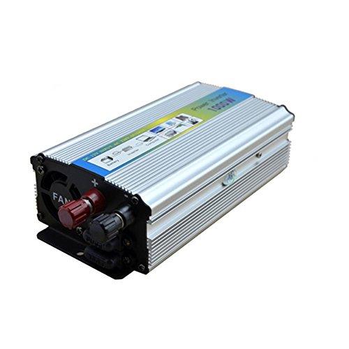 Convertisseur BQ, Power Inverter 1000W DC 24V à AC 220V Transformateur tension de voiture Briquet de cigarette Chargeur de voiture USB