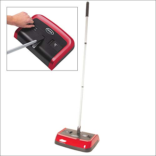 Ewbank Evo3 Manual Floor and Carpet Sweeper, Lightweight Multi Surface Cleaner with High Level Pickup both Forwards and…