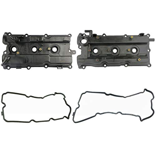 MOSTPLUS Engine Valve Cover Set Compatible with 02-07 I35 Altima Maxima Murano 3.5L 264-985 264-984 (Set of 2)