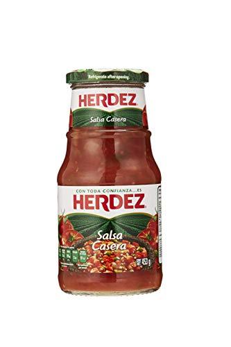 """Sauce """"Casera"""" aus Mexiko, Glas 453g - Salsa Casera HERDEZ 453g"""
