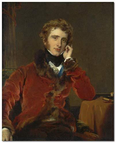 Pintura por números pintura para adultos Thomas Lawrence famosa pintura George James Welbore Agar-Ellis, más tarde 1St Lord Dover Kit de arte de lienzo DIY pintura al óleo para principiante