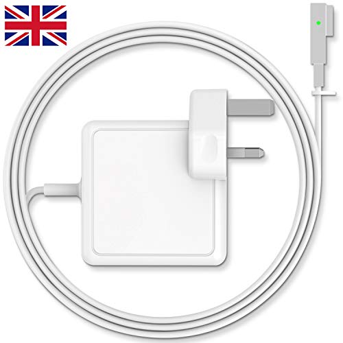 SUAMLAND Compatible With Macbook Pro Charger 85W Magsafe Power Adapter For MacBook 13'&15'&17' Inch - Mid 2009 2010 2011 Mid 2012 Mac Models - MC556B/C A1343 A1278 A1290 A1286
