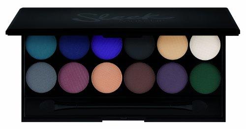 Sleek make Up I-Divine 12pc Mineral Eyeshadow Palette Ultra Mattes V2 Darks