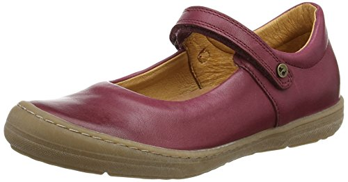 Froddo Froddo Mädchen Girls Shoe G3140063-1 Mary Jane Halbschuhe, Rot (Bordeaux I28), 35 EU