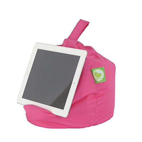 iPad, E-Reader & Bücher Mini BeanBag Sitzsack von Bean Lazy passend für alle Tablets and E-Readers - Wasserdicht Pink