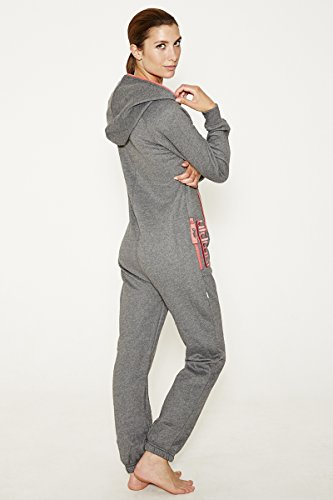 Jumpin Erwachsene Jumpsuit Original, Dark Grey - 2
