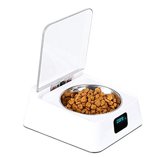 ペット用品 猫 犬ボウル 自動給餌器 自動餌やり機 餌入れ USB給電 ステンレス鋼 食器 ペットお留守番対策