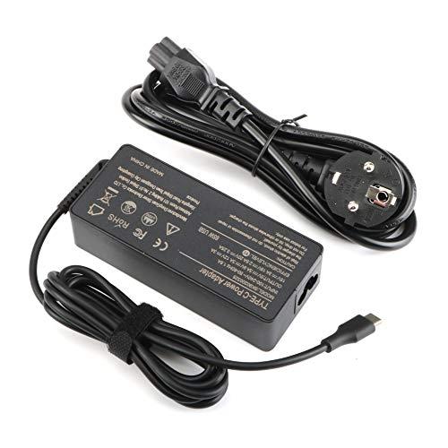 65W USB Tipo C Cargador Adaptador para Lenovo Yoga C940 C740 S730 720 730 720-13IKB 730-13ikb 730S 910 920 920-13ikb 13; ThinkPad T480 T480s T580 T580s Chromebook C330 S330 ThinkPad X1 Carbon