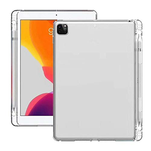 GHC PAD Cases & Covers For IPAD PRO 11inch 12.9inch, TPU Tablet Back Case Clear Lightweight Shockproof Transparent Shell With Pencil Slot For IPAD PRO 11inch 12.9inch 2020/2018
