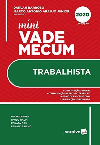 Mini Vade Mecum Trabalhista - 2ª edição de 2020 (Meu Curso)