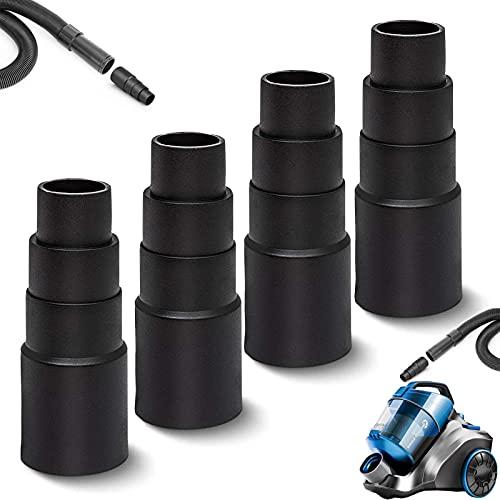 Staubsauger Adapter, 4 Stück Schlauchadapter universal Staubsaugerschlauch Absaugadapter passend Absaugadapter Schlauch, für alle Standard-Staubsauger