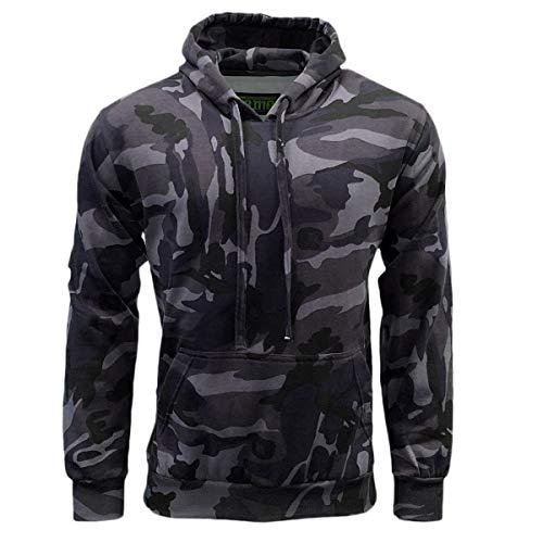 Game Mens Military Army ACU Digital Camouflage Hoodie Camo Pullover Sweatshirt