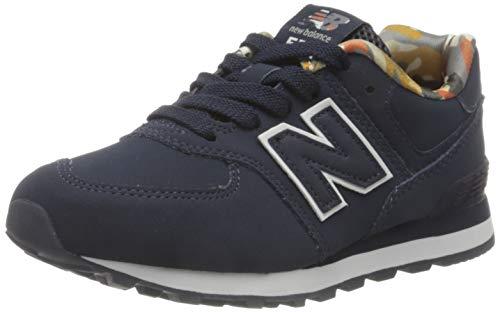 New Balance 574 PC574GYZ Medium, Scarpe da Ginnastica Bambino, Blue (Navy GYZ), 28
