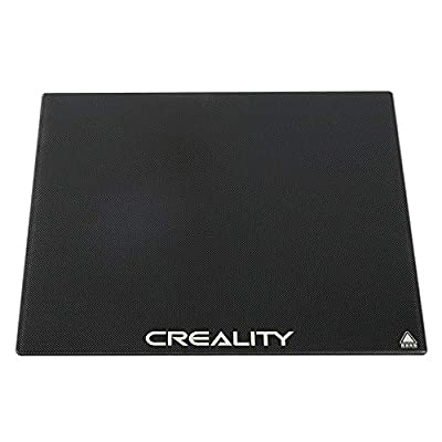 Creality CR-10 V2 Glass Bed 3D Printer Platform Tempered Glass Plate Build Surface 310 x 320mm for CR-10S Pro V2/CR-10S Pro/CR-10S/CR-X