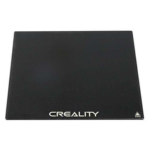 Comgrow Creality CR-10 V2 V3 - Plataforma de vidrio para impresora 3D, superficie de construcción de 310 x 320 mm, para CR-10S Pro V2/CR-10S Pro/CR-10S/CR-X