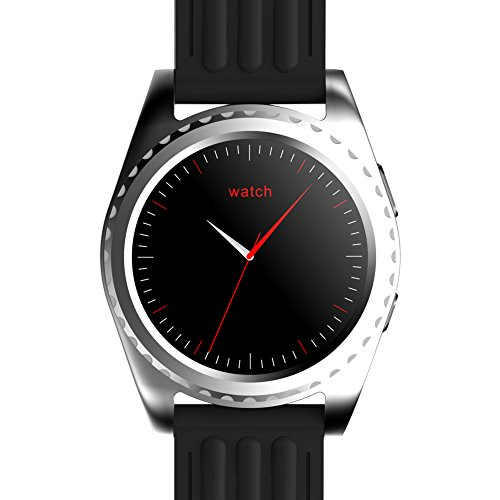 Padgene Smart Watch, Bluetooth Smartwatch mit Fitness Tracker Herzfrequenzmesser