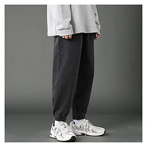 PantalóN Cargo Para Mujer PantalóN Punk Hombres Pantalones de tobillo Pantalones vaqueros Pies de vinculación Impresión de la moda Floja Sencillez Male Streetwear Danza Denim Jogging Pantalones