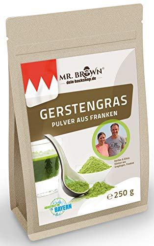 250g Gerstengraspulver aus Franken in Deutschland, Superfood, veganes Barley Grass