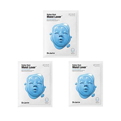 ドクタージャルトゥゴムマスクモイスト・ラバー3枚マスクパックマスクシート、Dr.Jart Rubber Mask Moist L...