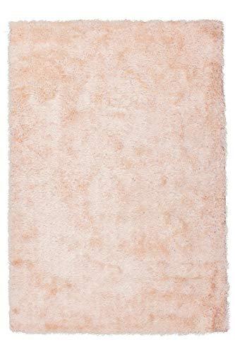 Fabelia Hochflor Teppich Whisper Puderrosa (80 x 150 cm)
