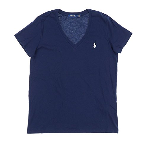 Polo Ralph Lauren Womens V-Neck Jersey T-Shirt