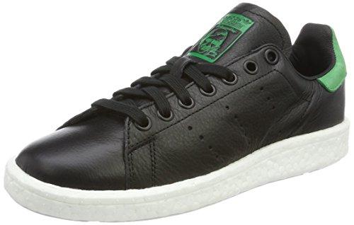adidas Stan Smith Boost, Zapatillas Unisex Adulto, Negro (Core Black/Core Black/Green), 40 EU 🔥