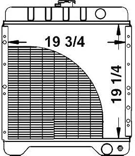 A172038 Radiator Made for Case Backhoe 580 580K Series I II & III Super K