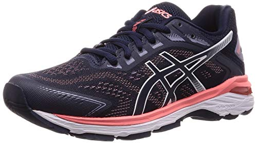 ASICS Damen GT-2000 7 Laufschuhe, Blau (Midnight/Midnight 402), 42 EU