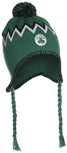 Boston Celtics NBA Tassel Knit Hat with Pom