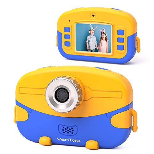 VanTop Junior K6 Kids Camera with 32GB Memory Card, Supports...