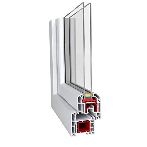 Fenster 800 x 1000 mm (B x H) DIN Links Ideal 4000 Classicline aus Mehrkammer-Kunststoffprofilen