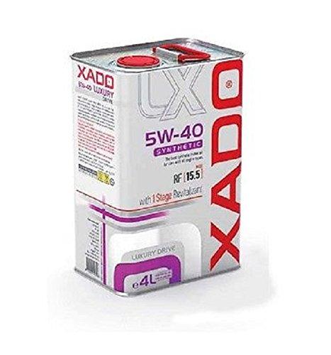 XADO Aceite de Motor 5W-40 sintético – Luxury Drive con 1 Stage...
