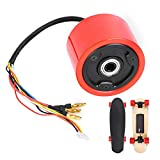 DAUERHAFT Rueda de Motor de monopatín eléctrico Rueda de monopatín eléctrica Durable, con Sensor de Pasillo de 15-20 km/h
