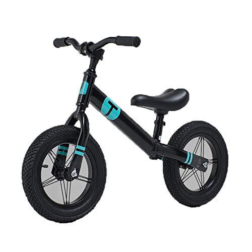 Kupper Coche de Equilibrio de los niños, sin Pedales, 2-6 años de Edad, Bicicleta, niño montaña Rusa de Dos Ruedas, Scooter bebé. 008Líttlesuperman-azul.