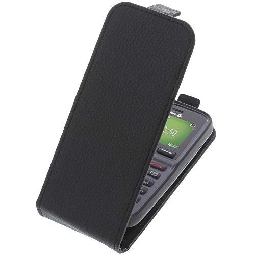 foto-kontor Tasche für Doro 5030 Smartphone Flipstyle Schutz Hülle schwarz