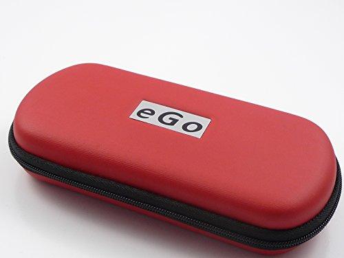 Hannets® Zipper Etui rot groß für e-Zigaretten eGo-T / eGo-C / eGo-W / 510 / 510-T